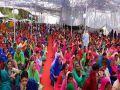 women nirankari saint Samagam in Bilaspur himachal