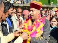CM Thakur reach at penates in Mandi with Family Toll Rates