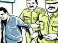 A rogue arrested with a sharp weapon in Jaipur arrested