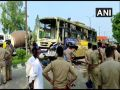 Bus and pickup collide in Moradabad, 5 killed, many injured