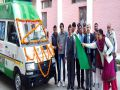 Launch of Neonatal Care Ambulance DC flagged off in Fatehabad