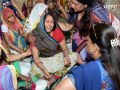 bharatpur news : Chief Minister vasundhara raje said to the victims - you are not alone, the whole government with you