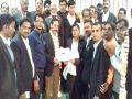 Advocate Maderna Bar Association elected Bharatpur President