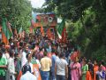 BJP Rath Yatra journey reached at Jogindar nagar
