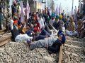 किसान, मजदूर अब 13 मार्च को रेल ट्रैक को जाम करेंगे - बीकेयू