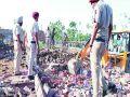 5 dead and 18 injured in Sangrur cracker factory blast