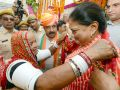 jalore news : public dialogue of Chief Minister Vasundhara Raje in Jalore under the Rajasthan Gaurav Yatra