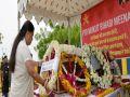 jhalawar news : Chief Minister Vasundhara Raje paid tribute to martyr Mukut Bihari