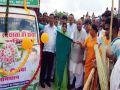 jhalawar news : BJP State President Madan Lal Saini and Chief Minister Vasundhara Raje inaugurated the Clean India fortnight in Jhalawar