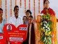 sirohi news : Chief Minister Vasundhara Raje said in Sirohi : Congress is always crying for money