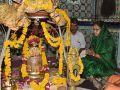 CM visited shreei Mangaleshwar Mahadev and worshiped him