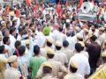 sriganganagar news : Police detention case : demonstrations on the demand of action on policemen