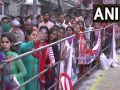 Devotees thronged at Anandeshwar temple in Kanpur on the occasion of Mahashivaratri