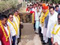 pratapgarh news : Minister of State for Rural Development Dhansinh Rawat inaugurated CC Road