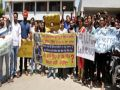 Punjab University students protest against fees hike
