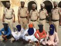 Police took control of three gangsters, in large numbers