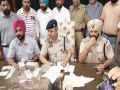 One arrested, including cash of Rs 27 lakh, weapon and pak sim