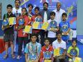 Tarun and Sneha win junior badminton under-17 titles