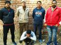 In the case of theft the accused was arrested by the police