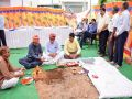 dungarpur news : Cooperative Minister Ajay Singh Kilak laid the foundation stone of the new building of Rural Development Bank