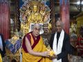 Dalai Lama congratulates President Kovind on his 76th birthday