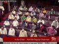 पेगासस प्रोजेक्ट मामला - कांग्रेस और TMC सांसदों ने सदन के स्पीकर पर कागज़ फेंके