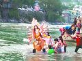 Bihar: Idol immersion done in rivers will have to be fined, temporary ponds are ready for immersion