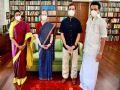 स्टालिन ने कांग्रेस पार्टी की अंतरिम अध्यक्ष सोनिया गांधी और राहुल गांधी से मुलाकात की