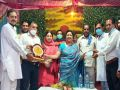 Sarveen Chaudhary inaugurated the community building Khadivahi