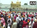 Sidhu with 62 MLAs offered prayers at the Golden Temple, Amarinder and his confidante were absent
