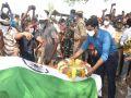 Andhra Pradesh: State funeral of martyr of Chhattisgarh with state honor - Chhattisgarh News in Hindi
