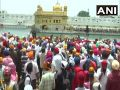 Navjot Singh Sidhu show of strength in Punjab, reached Amritsar Golden Temple, see photos