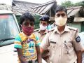 Slum boy, who scolds tourists, turns police mascot for Covid rules