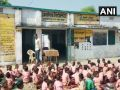 Mid Day meal: Children served 1 litre milk diluted in 1 bucket water in Uttar Pradesh Sonbhadra
