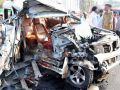 3 killed including brother of SP leader in collision of truck-Scorpio at UP
