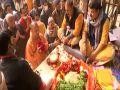 CM Yogi gave trust to saints, said he will develop Brajkshetra