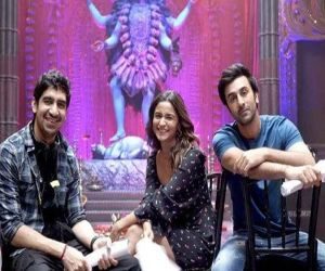 Alia Bhatt posts pics with magical boys Ranbir and Ayan Mukerji - Hindi News