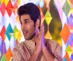 Allu Sirish reveals a problem that happy people have - Hindi News
