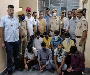 राजस्थान में पुलिस उप निरीक्षक परीक्षा में नकल गिरोह का खुलासा, 2 नाबालिग सहित 10 को पकड़ा