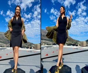 Divyanka Tripathi posts on location pictures from Cape Town - Hindi News
