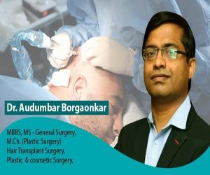 Dr. Audumabar Borgaonkar of Areeva Clinic, Vashi states it is safe to proceed with hair transplant procedures - Hindi News
