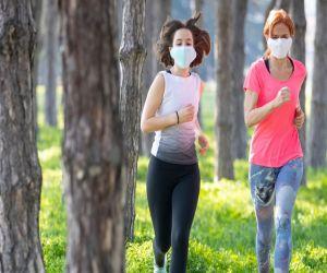 Face masks do not increase body temperature during exercises - Hindi News
