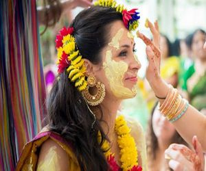 Know why turmeric paste is applied on the body before marriage? - Hindi News