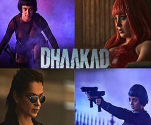 Kangana shares her four looks from spy thriller Dhaakad - Hindi News