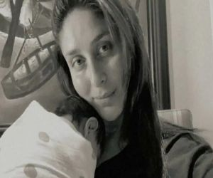 Kareena Kapoor posts first picture of newborn son - Hindi News