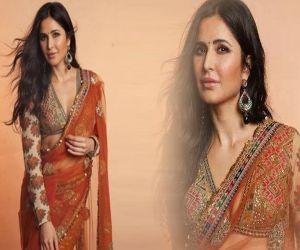 Katrina Kaif ethnic look is a treat for sore eyes - Hindi News