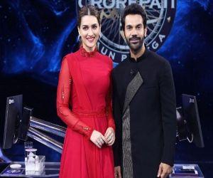 Kriti Sanon and Rajkummar Rao to appear on KBC 13 as special guests - Hindi News