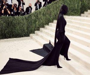 Kim Kardashian defends her 2021 Met Gala look - Hindi News