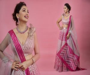 Madhuri Dixit Nene looks pretty in pink in new photo-op - Hindi News