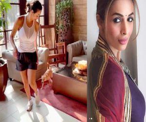 Malaika Arora shares her daily shenanigans - Hindi News